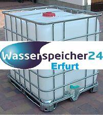 IBC 1000 Liter Tank Wasserspeicher Zisterne Fass Tonne Behälter für Wasser Regen