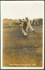 Ricasoli Ranges, Malta. Royal Navy Revolver Championship Finals. 1928 Real Photo