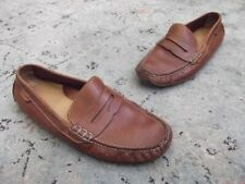 Cole Haan Mens Grant Canoe Penny Brown Loafers Size 10
