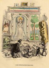 The Art Exhibition, 'A Different World' by J.J Grandville, 1844, vintage poster