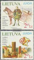 Litauen 970-971 (kompl.Ausg.) postfrisch 2008 Brief