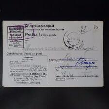 LETTRE PRISONNIER DE GUERRE STALAG IX A -> RIORGES KRIEGSGEFANGENENPOST POW