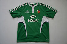 rare British and Irish Lions Australia  Rugby Shirt Jersey Adidas  green size M