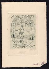 21)Nr.180 - EXLIBRIS  - Bruno Heroux -Probedruck / Trial print