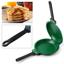 Non Stick Pancake Pan Flip Perfect Breakfast Eggs Omelette Flipjack Maker Tools