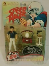 """Speed Racer Series One Action Figures Complete Set, """"Rare� 1999 (Nib)"""
