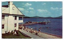 1961 Saranac Inn, Upper Saranac Lake, NY Postcard