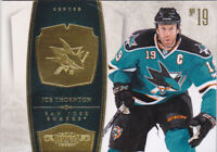 10-11 Dominion Joe Thornton /199 San Jose Sharks Base 2010