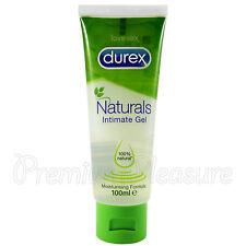 Durex NATURALS Intimate gel Water based lube * 100% natural * 100ml / 3.38 fl.oz