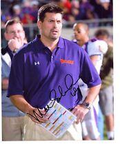 Mark Schlereth signed autographed football 8x10 photo Redskins Broncos  ESPN