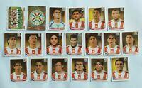Panini WM 2010 Paraguay Mannschaft Team Complete Set World Cup WC 10