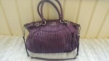 Coach Sophia Madison Gathered Purse Purple