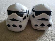 Disney Star Wars Character Storm Trooper Slippers Size Men's Medium 9- 10,  NWOT