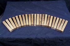 "22 Piece Butternut Pen Blanks 3/4 x 3/4 x 5"" Lathe Turning Craft Wood Lumber"