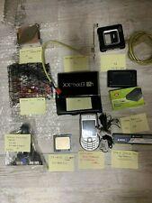 Lotto 02 Componenti Informatica Schede USB RAM CPU BOX HDD Cellulari dissipatore