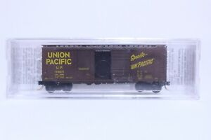 MTL N SCALE UNION PACIFIC 40' PLUG & SLIDING DOOR BOX CAR NEW IN BOX
