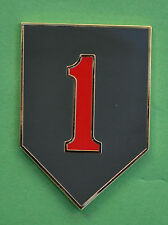 1st Infantry Division CSIB Combat Service Identification Badge