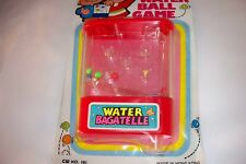 Vintage Water Bagatelle Handheld Mini Water Ball Game LUCKY - STAR