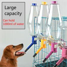 Drinker Dispenser Hanging Bottle Water Drink for Pet Dog Cat Bottles Supplies