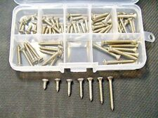 #6 Stainless Steel Oval Phillips Head Auto Sheet Metal Trim Screws Buick Caddy