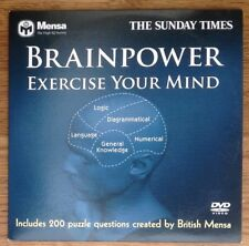 DVD -  BRAINPOWER - EXERCISE YOUR MIND - NEWSPAPER PROMOTION