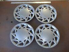 """1995 95 Dodge Neon Hubcap Rim Wheel Cover Hub Cap 13"""" OEM USED SILVER 501 SET 4"""
