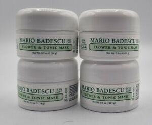 4x Mario Badescu Flower & Tonic Mask 14g Each Oily Skin Face/Facial Mask