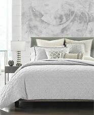 Hotel Collection Connections Queen Duvet Cover Grey