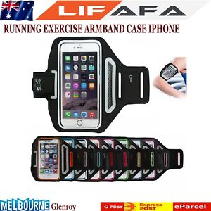 Sports Gym Running Exercise Slim Armband for iPhone Reflective Arm Band Case