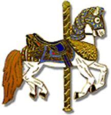 Tie Tac Pin Carousel Looff Armoured Horse