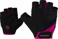 Ziener Damen-Rad-Bike-Handschuhe CAPELA LADY BIKE GLOVE schwarz pink
