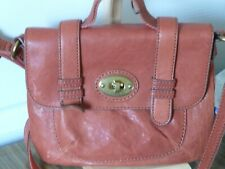 fossil leather shoulder bag,