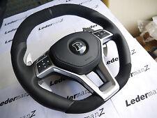Mercedes W212 W207 R231 W204 W117 W176 AMG Brabus look flat thick steering wheel