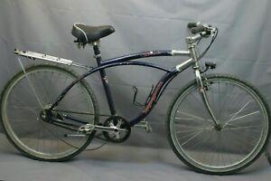 """Mongoose Zuma Comfort Hybrid Bike Large 18.5"""" Canti-brakes Internal Hub Charity!"""