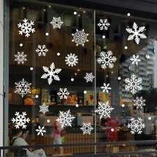 Stickers 76PCS Window Decorations Shop Home Christmas Snowflakes Reusable