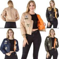 Winter Bomber Machine Washable Coats & Jackets for Women