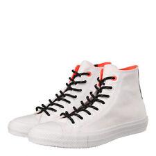 Scarpe alte da uomo bianche Converse