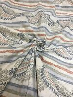 "PAISLEY SHEETING 100% COTTON 90"" WIDE  5 METRES"