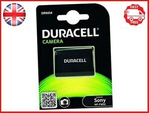 Duracell Premium Analog Sony NP-FW50 Battery for Alpha A7 A7R A7S 7.4V 1030mAh