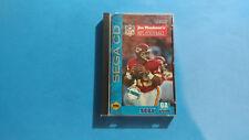 Joe Montana's NFL Football (Sega CD, 1993) Complete CIB