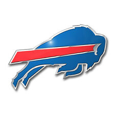 Team ProMark NFL Buffalo Bills Aluminum Color Car Truck Emblem Sticker Decal