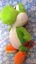NEW WITH TAGS! Authentic Nintendo Super Mario Green  Yoshi Plush