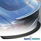 For 2012-2018 Tesla Model S Factory Real Carbon Fiber Trunk Spoiler Wing 1PC