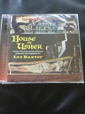 House Of Usher,les Baxter,intrada Film Soundtrack,ltd Edition Of 1200