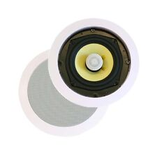 Monoprice 8 inch 2-Way In Ceiling Speakers (Pair) 80W Nominal, 160W Max New