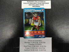 2007 TEAMCOACH BLUE PRIZE CARD NO.114 AMON BUCHANAN SYDNEY SWANS