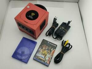 Nintendo GameCube console Red Special Edition Gundam Char Japan system US Seller