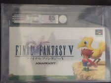 Final Fantasy V Super Famicom VGA Archival 85 Silver NM+