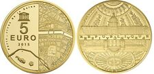 FRANCE 5 Euro Or BE 2015 UNESCO les Invalides le Grand Palais - Gold Coin 0,5 Gr