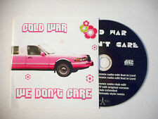 COLD WAR : WE DON'T CARE ( REMIX RADIO EDIT ) ♦ CD SINGLE PORT GRATUIT ♦